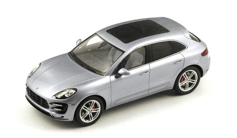 marcas de diseñadores baratos Porsche Macan Macan Macan turbo 2013 plata 1 18 Model s18171 Spark Model  comprar marca
