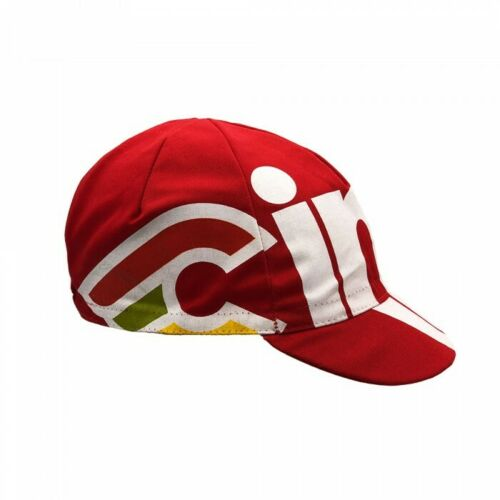 Nemo Tig Cinelli Cycling Cap in Red Made in Italy