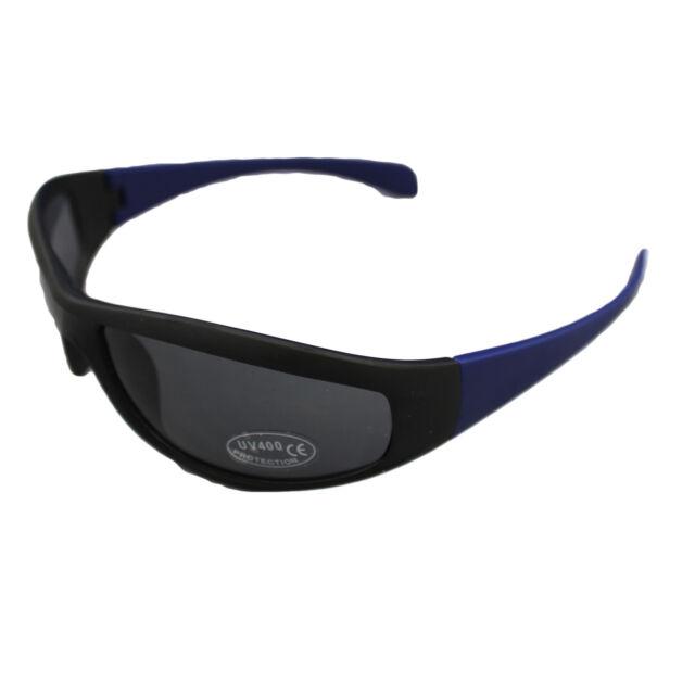 BLUE WRAP AROUND SUNGLASSES UV400 SHADES DESIGNER SPORT LEISURE UNISEX HOLIDAY