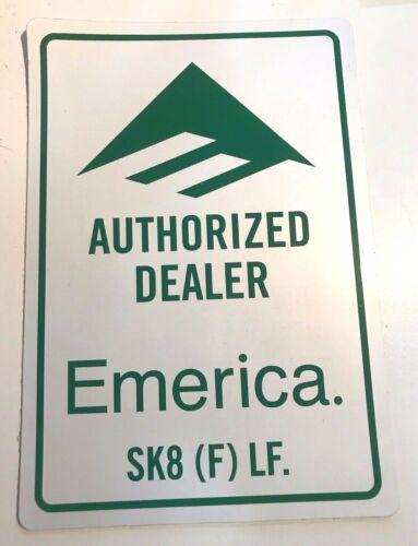 Emerica Authorized Dealer Sticker NEW!