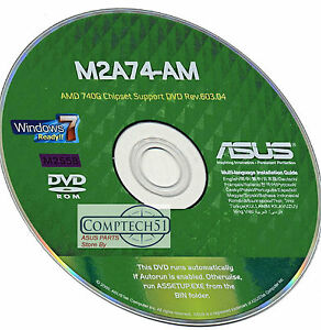 Driver for Asus M2A74-AM AMD VGA