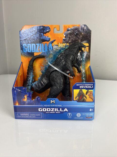 """Godzilla vs Kong 6"""" Godzilla Figure w/ Heat Ray MonsterVerse Playmates"""