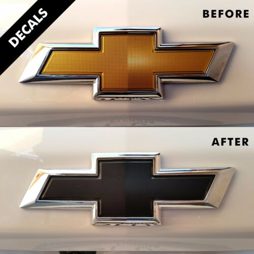 Chevrolet Equinox LS Grille /& Trunk Bow Tie Pre-cut Decal 2018 4