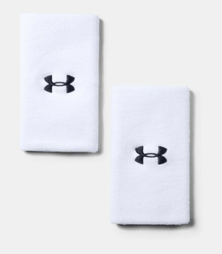 """/""""Embroidered/"""" Under Armour Men/'s Headband or Wristband Tennis or Others UA"""
