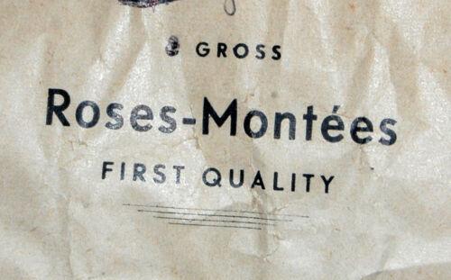 Vintage Tiny cose en piedra de luz Aqua Rose montees 2mm 9SS germany-us Zona 1940