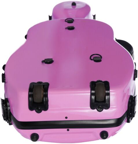 DE Bratschenkoffer Glasfaser UltraLight 38-43 M-case Rosa