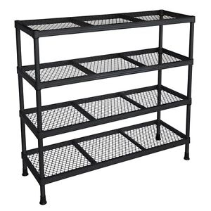 Storage Shelf Organizer Stand Rack Metal Shelving Unit Holder Support Bracket by Sandusky