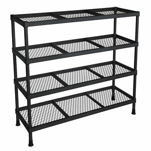Storage Shelf Organizer Stand Rack Metal Shelving Unit Holder Support Bracket by Sandusky