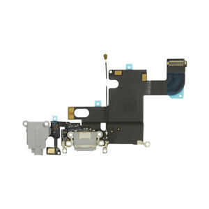 NEW-OEM-For-iPhone-6-4-7-New-Charger-Dock-Charging-Port-Mic-Flex-Cable-Gray