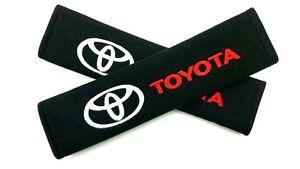 Seat-Belt-Shoulder-Strap-Pads-TOYOTA-86-Supra-Celica-Echo-Yaris-MR2-RAV4-Sienna