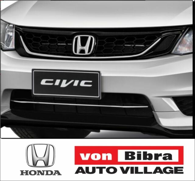 Brand New Genuine Honda Civic Sedan Chrome Front Grille For MY12-15