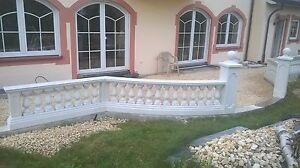 Balustraden-Hoehe-64-cm-Balustrade-Baluster-Marmor-Gelaender-Betonwerkstein