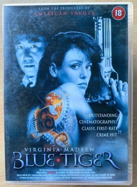 Blue Tiger DVD 1994 Yakuza / Japanese Gangster Thriller starring Virginia Madsen