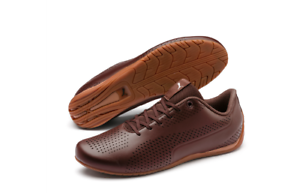 Details about Puma Mens Drift Cat 5 Ultra II Trainers Brown Shoes