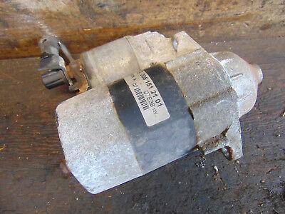 Chrysler Voyager 2.0 Petrol Manual Starter Motor 0001107064