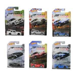 Hot-Wheels-1-64-Forza-Horizon-4-Coleccion-Juego-completo-de-6-vehiculos