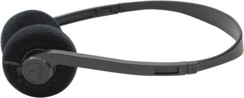 Soundlab A070EB Kopfhörer Hifi MP3 PC Handy On-Ear Stereo 3,5mm Klinke schwarz