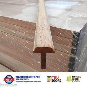 Door Mushroom Stop Solid Meranti Timber External 2 1m 2 4m
