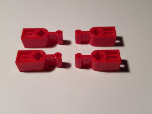 #LL Technik Stell Getriebe Hebel LEGO® 4 x 6641 Kupplung Hebel rot 6099696