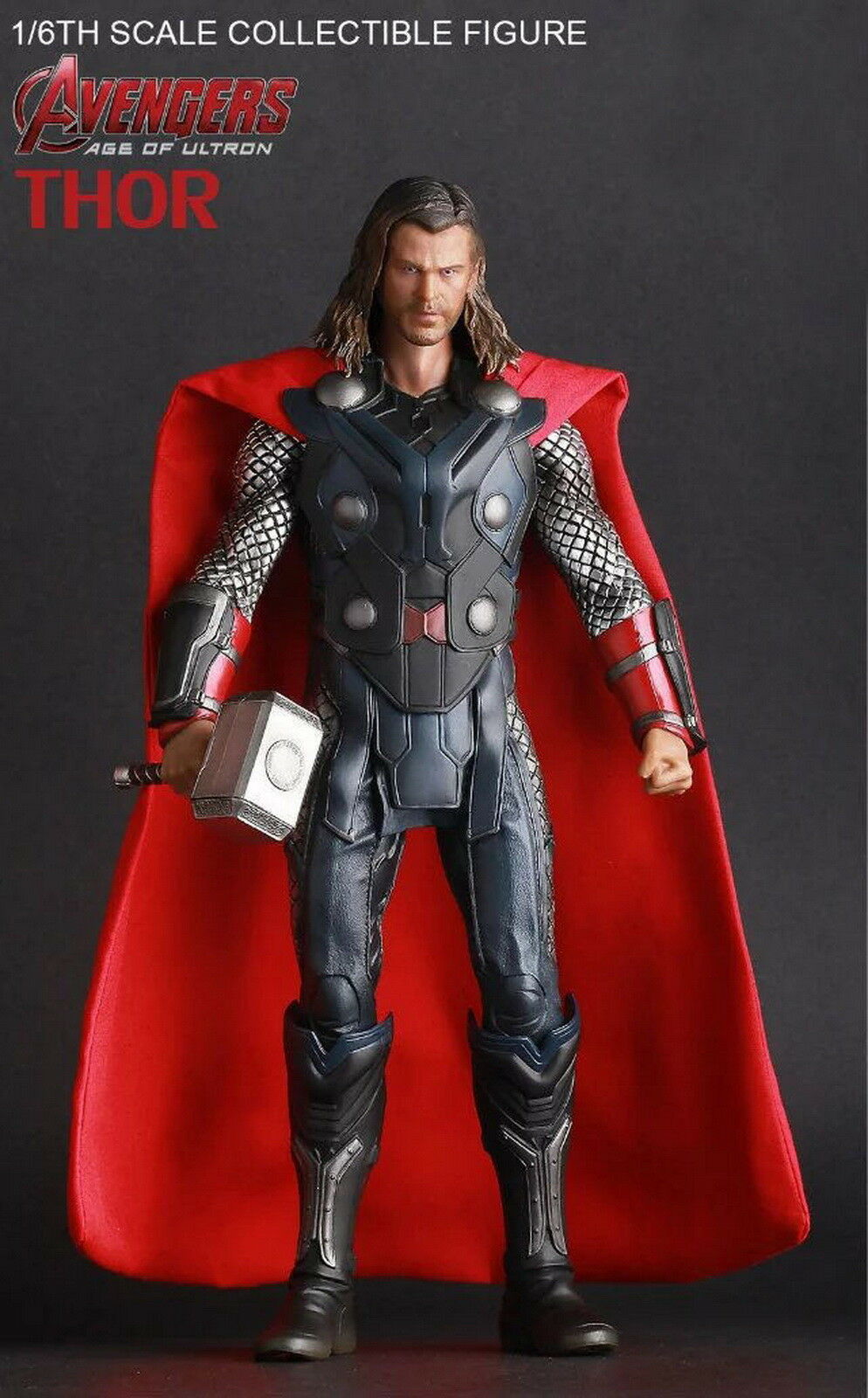 Crazy Toys Avenger 2 Age Of Ultron Thor Collectible Action Figure Toys Model  | Ab dem neuesten Modell