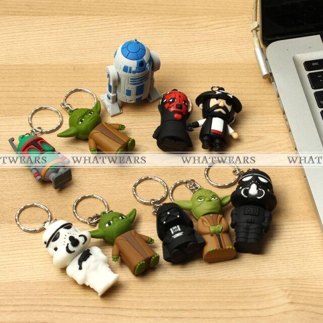 4/8/16/32/64GB Cartoon Star Wars Model USB 2.0 Memory Stick Flash Pen Drive HPT