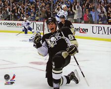 Pittsburgh Penguins SIDNEY CROSBY Glossy 8x10 Photo Celebration Print Poster