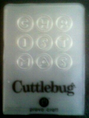 Cuttlebug Small Embossing Folder CAT /& BIRD fits Sizzix Big Shot