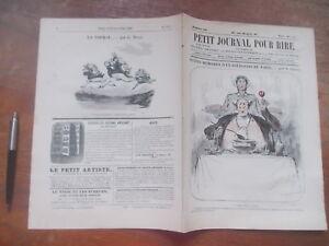 PETIT-JOURNAL-POUR-RIRE-552-1866-BOURGEOIS-PARIS-Grevin-THEATRE-BAINS-TOURVILLE
