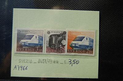 1477/1479 Francobolli Svezia Nuovi ** N a7966