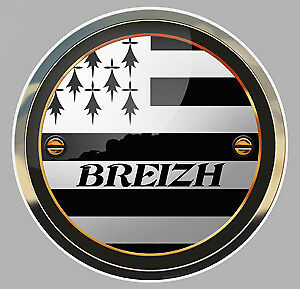 Automobilia Careful Autocollant Breizh Bretagne Logo Drapeau Capsule Blason 9cm Sticker Auto Ba129 To Ensure A Like-New Appearance Indefinably
