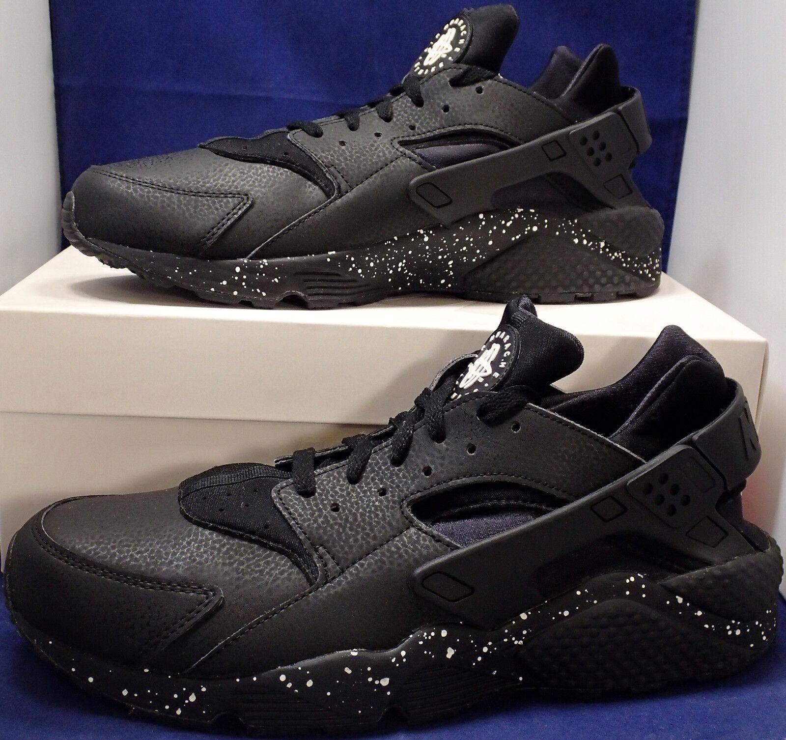 Nike Air Huarache SZ Run iD Black White SZ Huarache 12 ( 777330-903 ) f64084