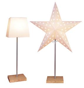 Tischlampe-Papierstern-Lampenschirm-2-in-1-Lampe-beige-Stehlampe-TOP-5