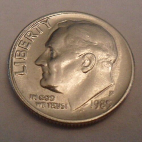 1985 P Roosevelt Dime  **FREE SHIPPING**