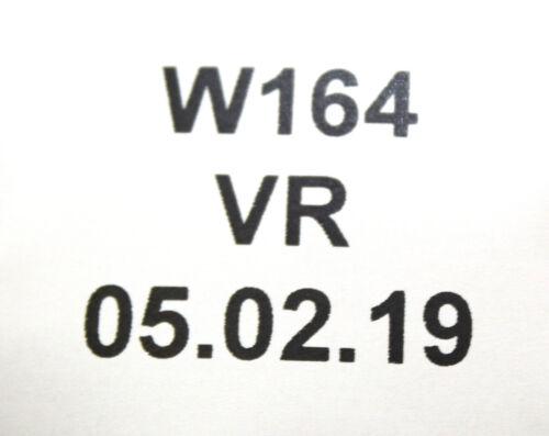 Mercedes W251 W164 ML A2518601085 Sicherheitsgurt Gurt Vorne Rechts 9C94