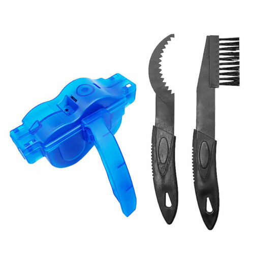 Bike Chain Cleaning Brush Cycle Motorcycle Bicycle Gear Cleaner Tools Scrubber