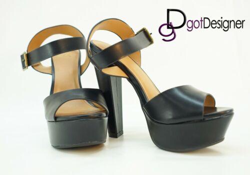 Womens Sandal T-strap Summer Shoes Wedge Heel Platform Peep Toe Strappy Size5-10