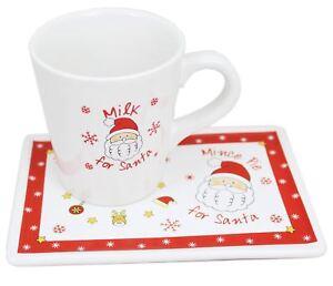 Image is loading Christmas-Milk-For-Santa-Mug-And-Mince-Pie-  sc 1 st  eBay & Christmas Milk For Santa Mug And Mince Pie Plate Set For Christmas ...