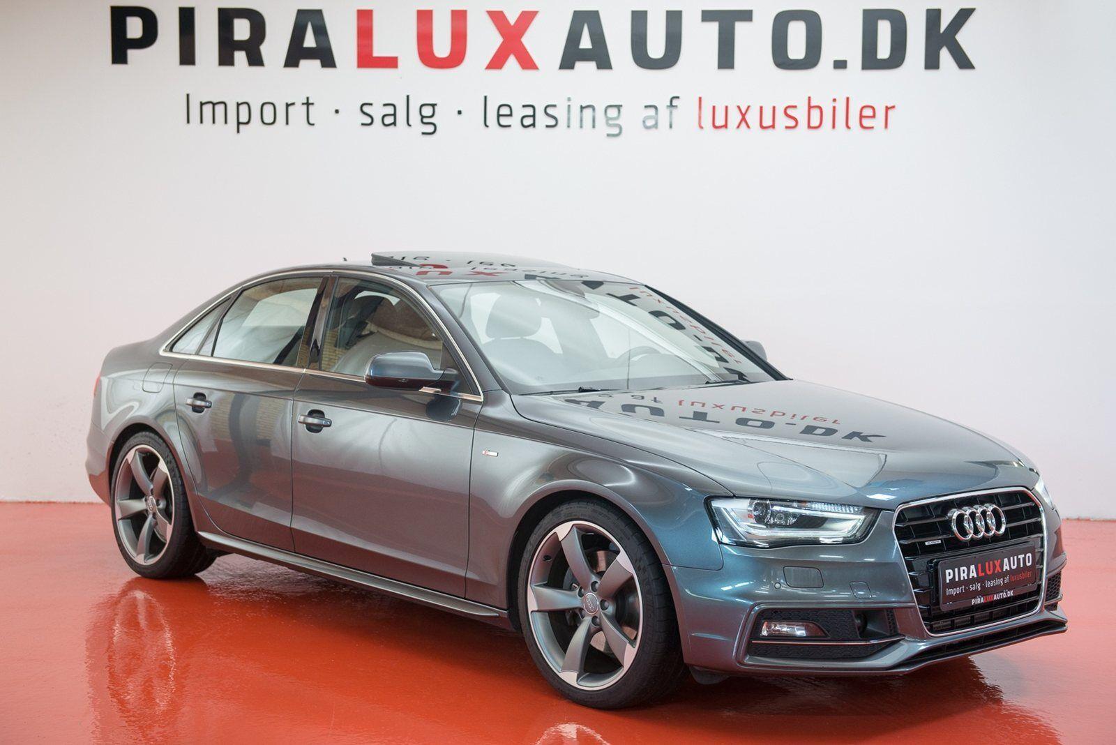 Audi A4 3,0 TDi 245 S-line quattro S-tr. 4d - 359.900 kr.