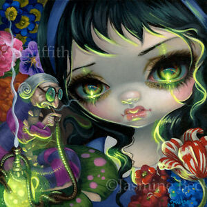 Alice and Clockworks by Jasmine Becket-Griffith 14x11 Gothic Poster ART PRINT