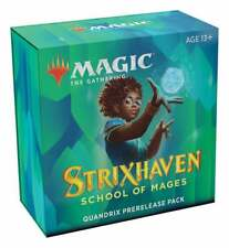 Strixhaven Prerelease Pack Quandrix Sealed Magic the Gathering Presell