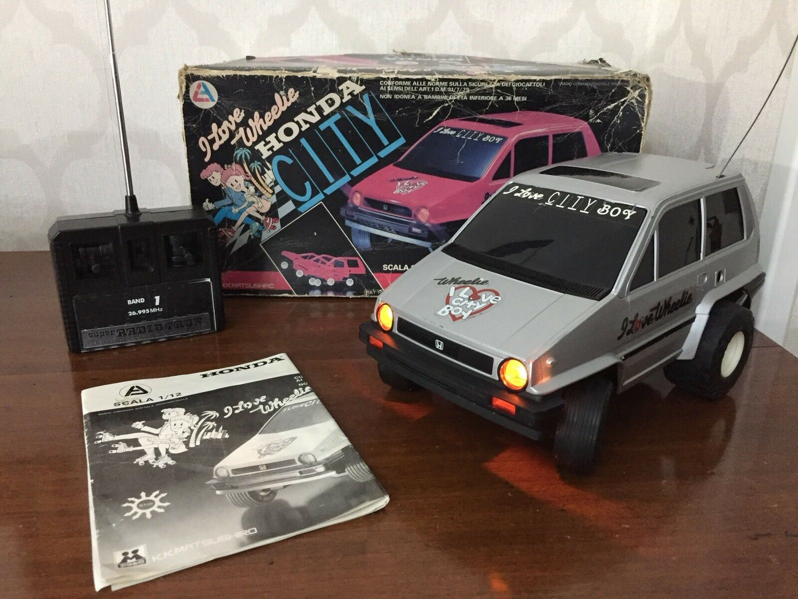 Matsushiro Rc Honda città Vintage Japan  giocattolo (no Nikko Taiyo Tyco Polistil Reel  i nuovi stili più caldi
