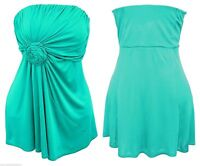 Womens new boob tube Jade Green plus size top 16 18 20 22 24 26