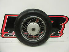 """2008 Suzuki DRZ70 10"""" OEM Front Wheel, Front Rim, Street Tire, 08 DRZ 70 B3707"""