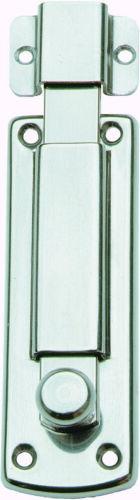 catenaccio catenacciolo orizzontale acciaio inox 100x27 mm porte porta
