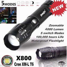 5000LM G700 Táctico linterna LED X800 Zoom Súper Brillante Militar Lámpara