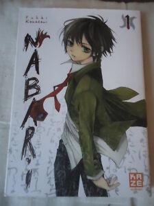 NEUF-LOT-SERIE-Nabari-Vol-1-2-KAMATANI-Yuki-KAZE-MANGA-VF-LIVRE-SHONEN