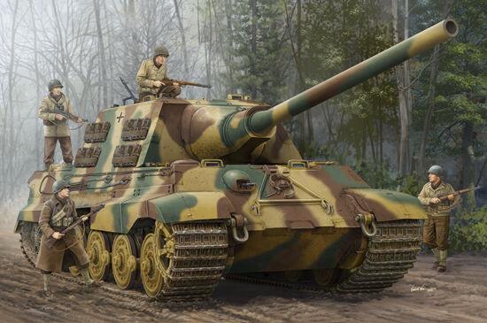 Char Allemand Sd.Kfz.186 JAGDPANZER VI  JAGDTIGER  - KIT TRUMPETER 1/16 n  00923