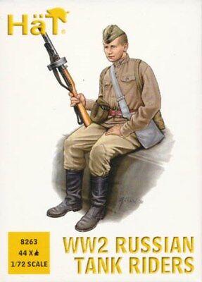 Amichevole Soldatini 1/72 Wwii Russian Tank Riders - Hat 8263