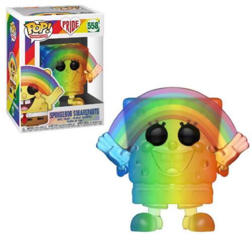 FUNKO POP! Pride 2020-Arcobaleno Spongebob Squarepants 558-Pre Ordine GIUGNO 2