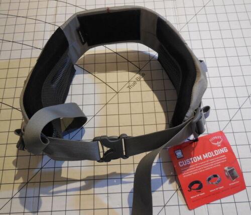 new Custom Isoform CM hip belt Osprey sizes available WL//WM//WS//WXS//L